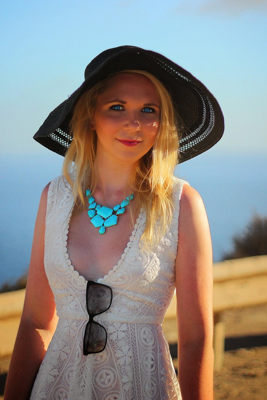 Miss Guided Crochet Skater Dress