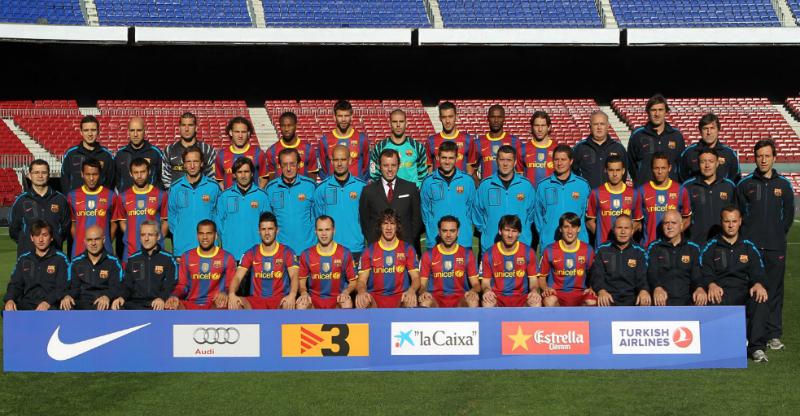 FC Barcelona campeón de la Liga 2010 2011
