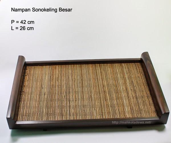 Nampan dan Mangkok Kayu, Kerajinan Kayu Sonokeling