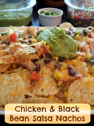 Chicken And Black Bean Nachos Recipe — Dishmaps