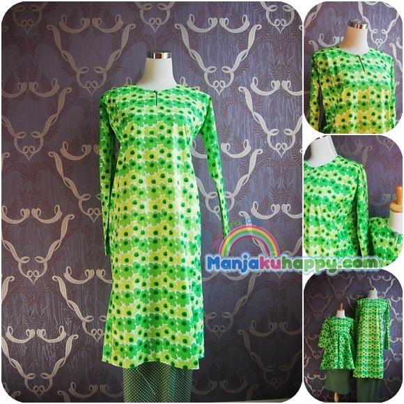ibu sedondon dengan anak green orchid bkibu10 s to xl design baju ibu