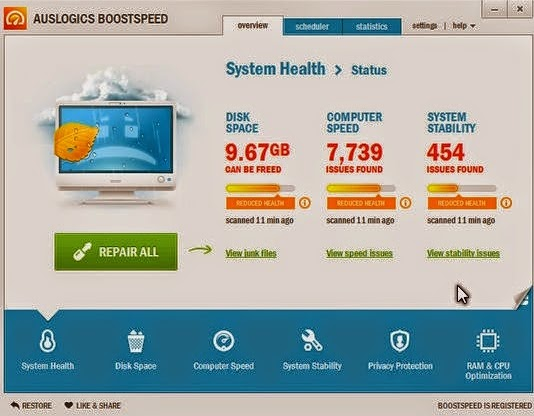 Download AusLogics BoostSpeed 6.5.5.0 Full keygen