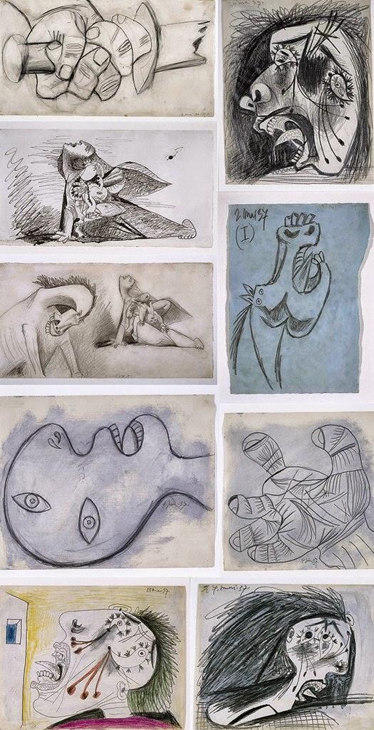 imagenes-de-bocetos-de-picasso