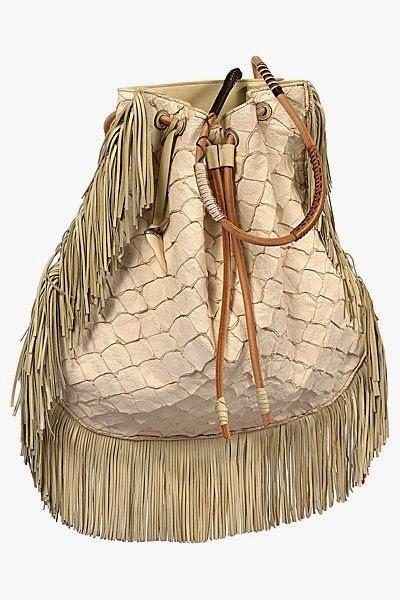 Etro - Saco mala com franjas coleção primavera verão 2015