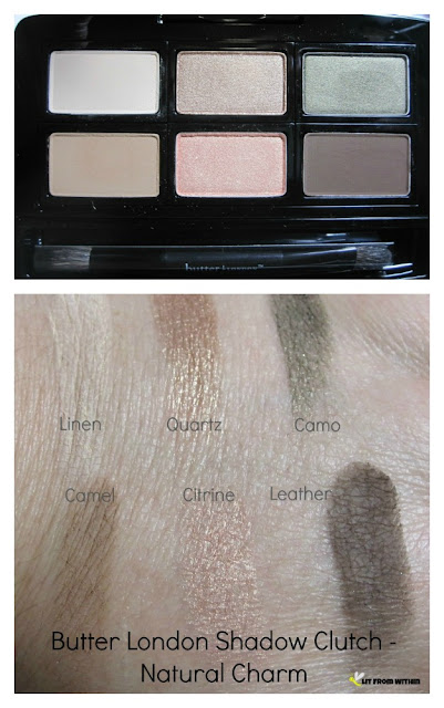 Butter London Shadow Clutch - Natural Charm