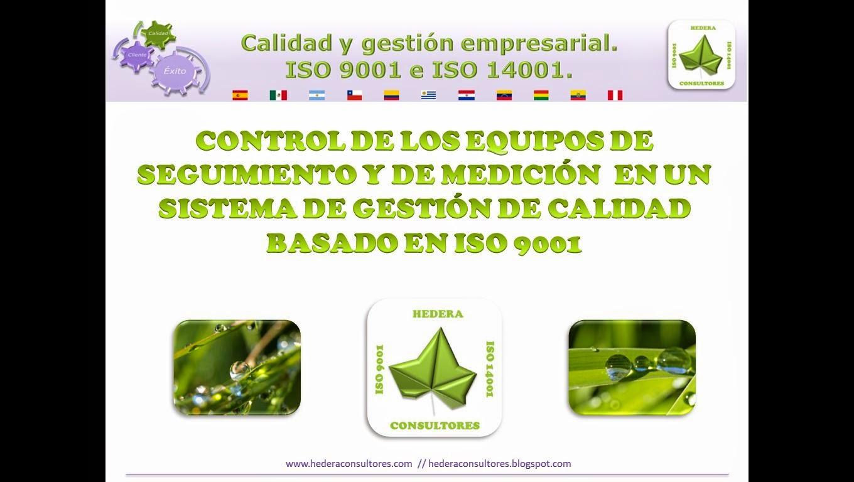 Equipos de medición ISO 9001