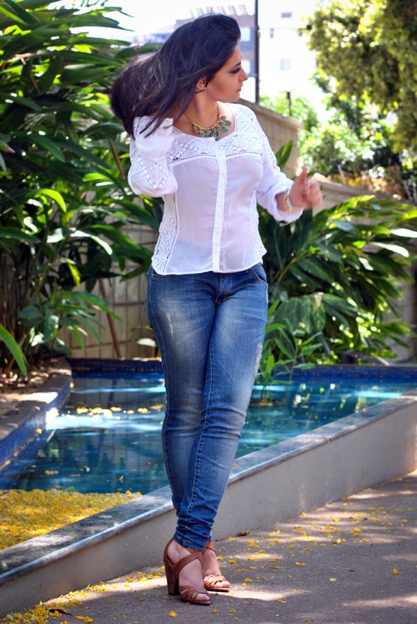 Bárbara Urias - Look verão casual