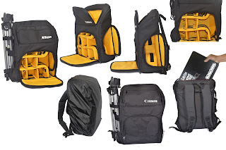 Tas Kamera Backpack Nikon Canon