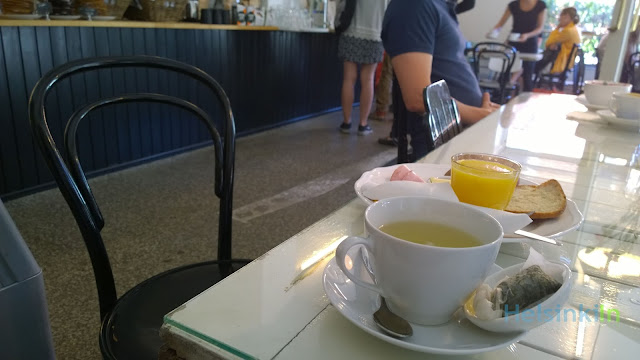 breakfast at Cafe Bon Temps