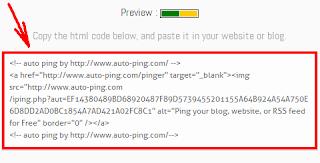 Code Auto Ping