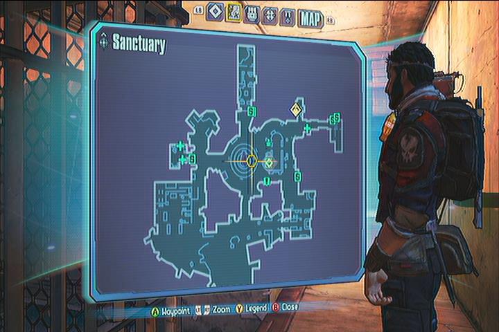 Sanctuary Vault Symbols Borderlands 2