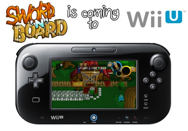 Sword 'N' Board played on Wii U GamePad