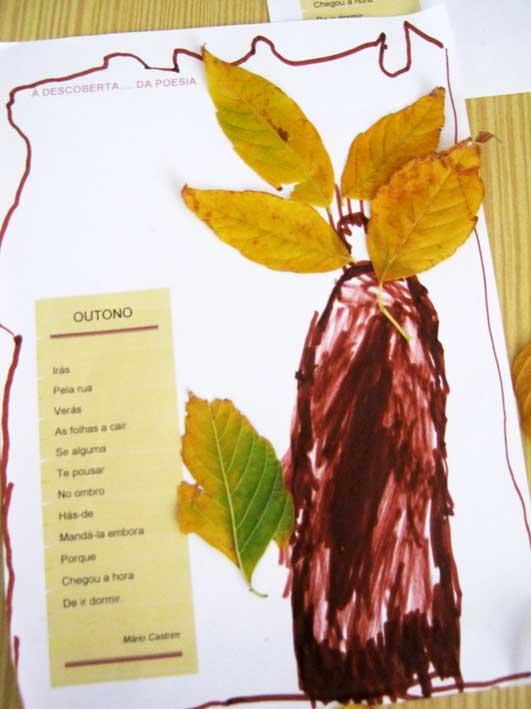 ideias para o outono jardim de infancia : ideias para o outono jardim de infancia:Jardim de Infância de Achete: O outono e as folhas das árvores