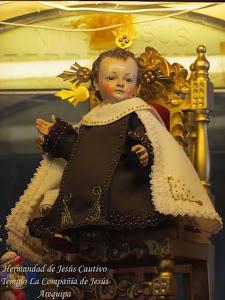 """Septiembre - Niño Jesús """"Terremotito"""" - Monasterio Santa Teresa"""