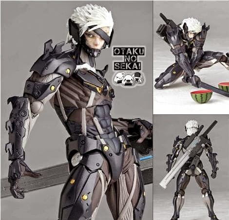 Revoltech Metal Gear Rising Raiden
