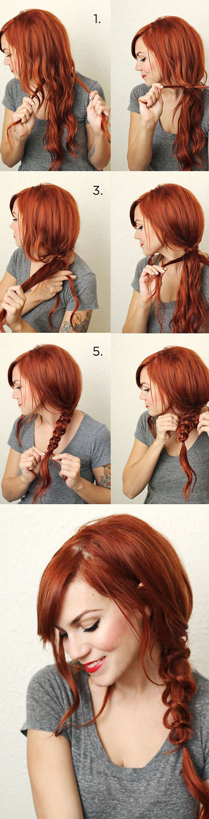 Simple Messy Knotted Braid