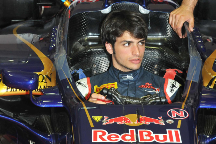 Carlos Sainz probará el Toro Rosso