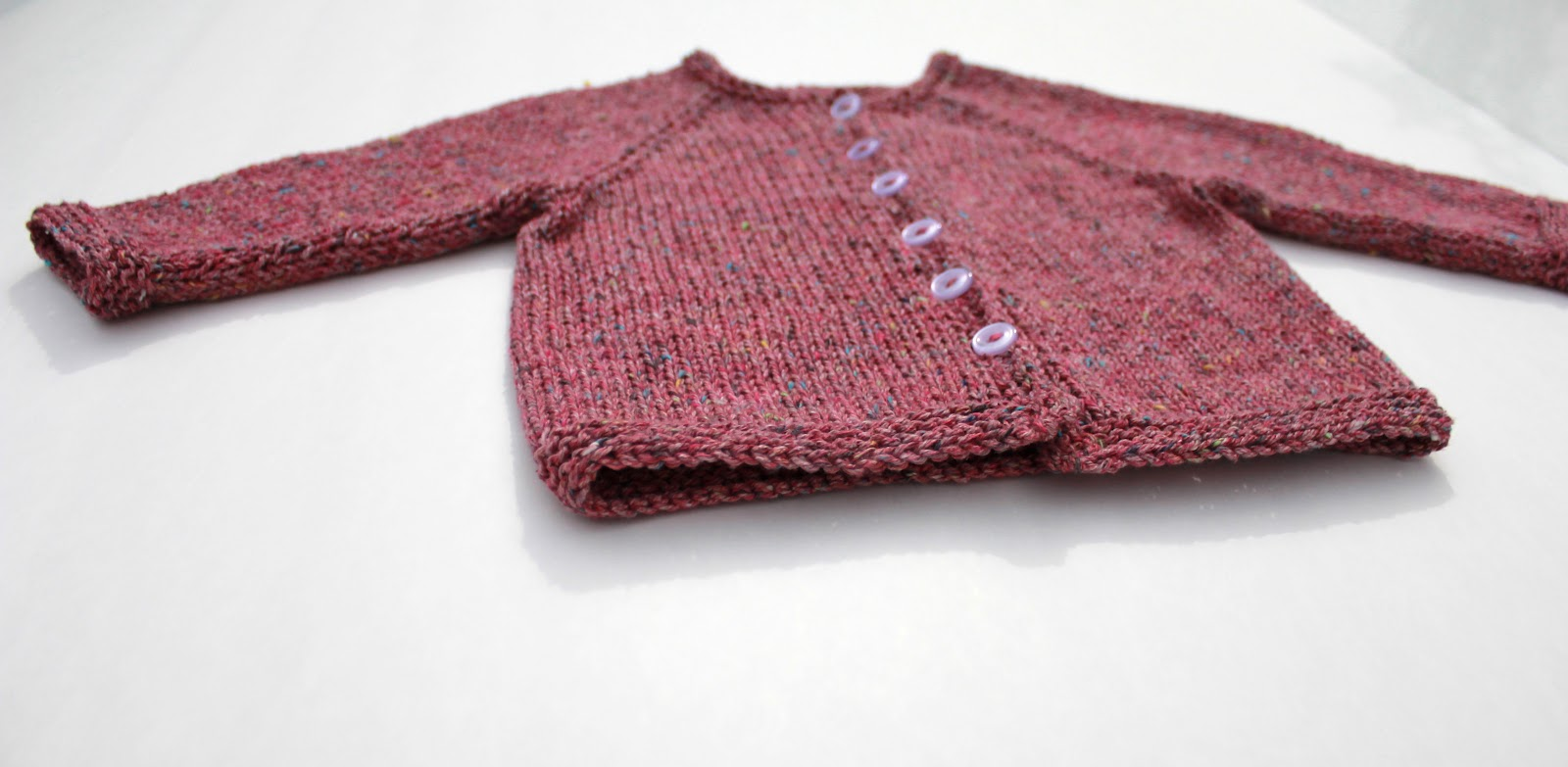 Absolute Knits: Basic Top Down Baby Cardigan