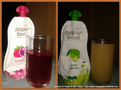 Paper Boat drinks Kokum and Aam Panna