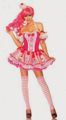 cupcakes pink costume halloween ilovesexy