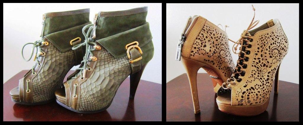 moda estilo corte costura sapatos sandálias peep toe ankle boot como usar dicas luz da lua schuts