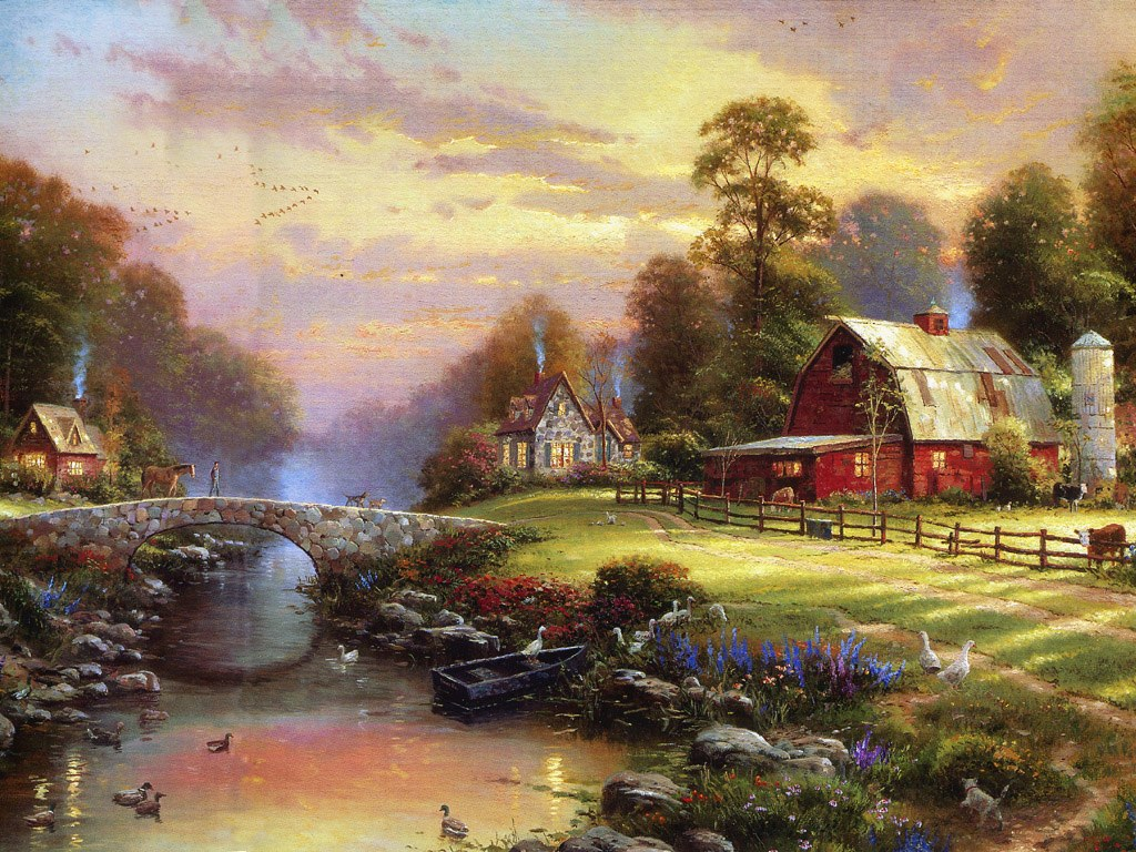 Art Wednesday Thomas Kinkade