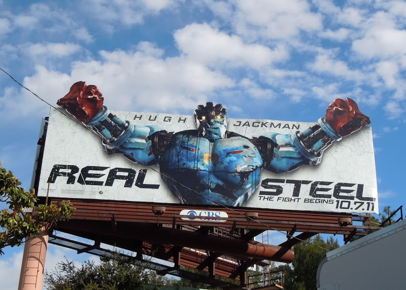 Real Steel Ambush robot billboard
