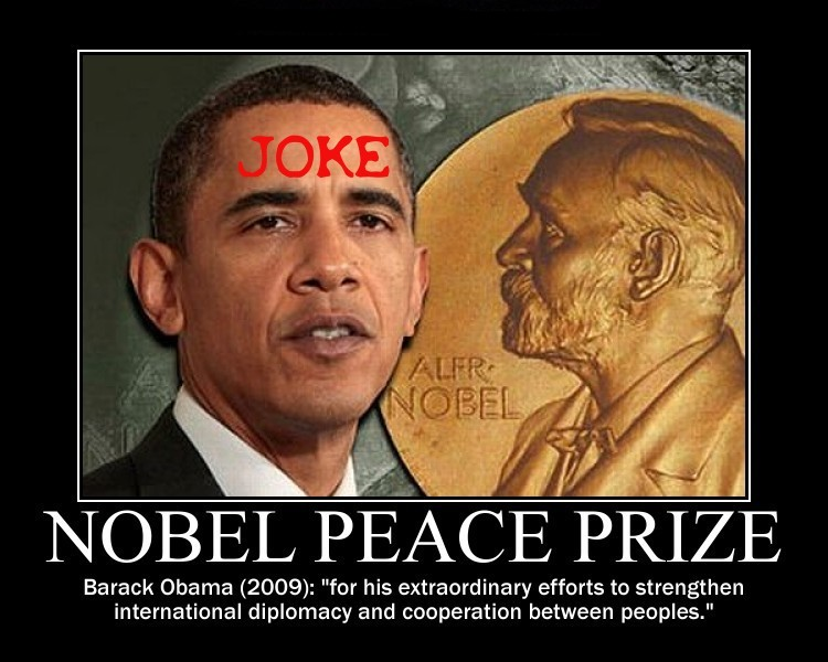Nobel Peace Prize joke