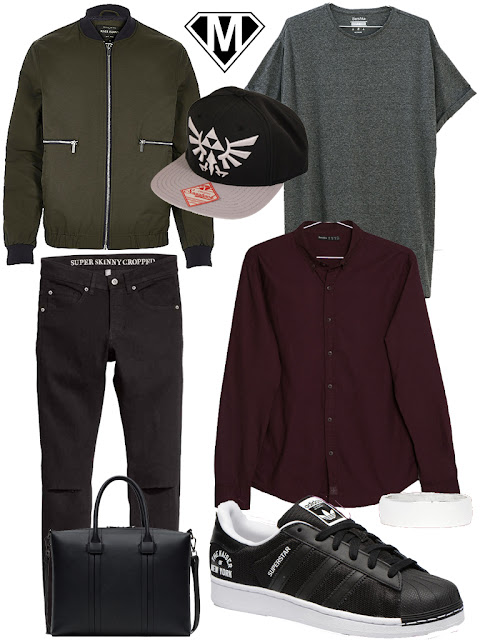 tenue homme urban hiver 2016 zelda triforce
