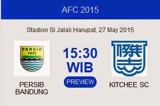 Persib vs Kitchee