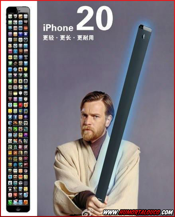 Melhores piadas sobre o iPhone 5 - iPhone Grande - iPhone 10 e 20