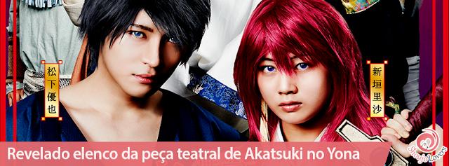 Revelado elenco da peça teatral de Akatsuki no Yona