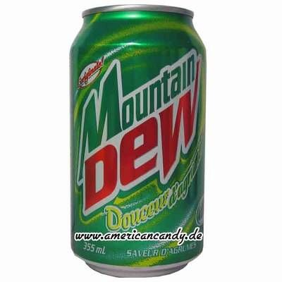 Mountain dew soda recipes