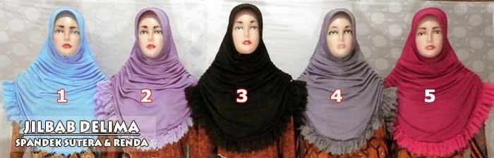 Jilbab-renda-terbaru-model-instan-bahan-spandek