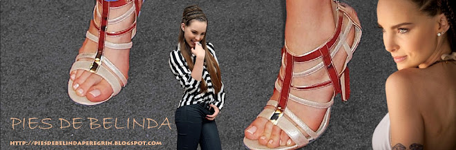 pies de belinda peregrin y sandalias de belinda