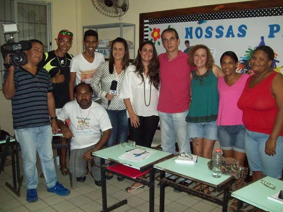 Curso: Projetos Culturais (Boca de Brasa) Fundação Gregório de Mattos, no Nordeste de Amaralina