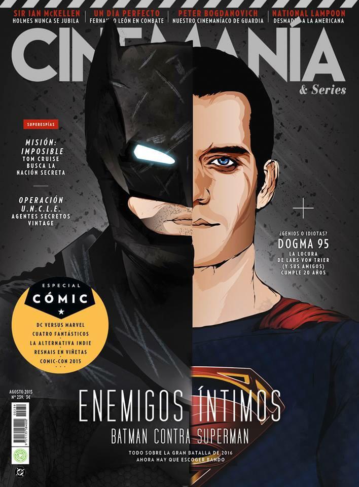 Cinemanía agosto 2015 Batman contra Superman