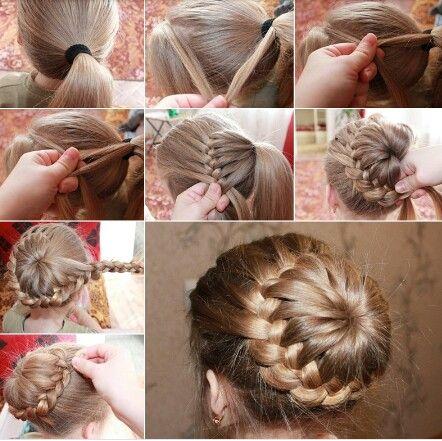 espero que se den el tiempo para hacer estos bellos peinados sus princesas quedarn hermosas un beso para todas