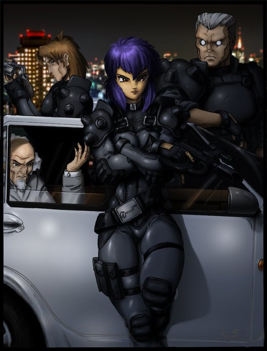 Ghost In The Shell por Omni-Existence