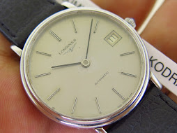 LONGINES SILVER DIAL- AUTOMATIC - WITH BOX