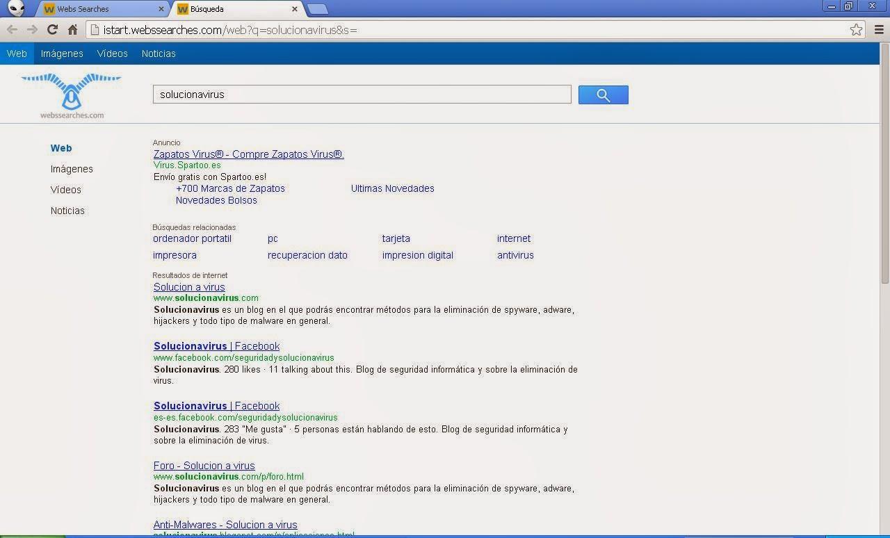 Resultados de búsqueda Istart.webssearches.com