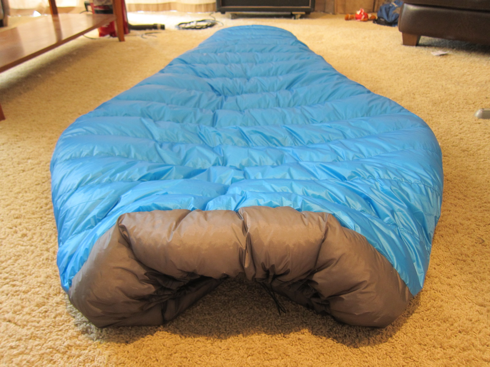 sea to summit ultralight custom quilt with no cold spots