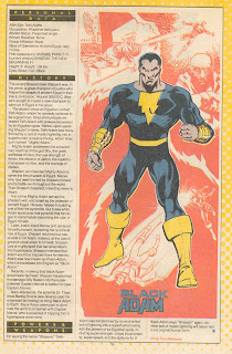 Black Adam Captain Marvel