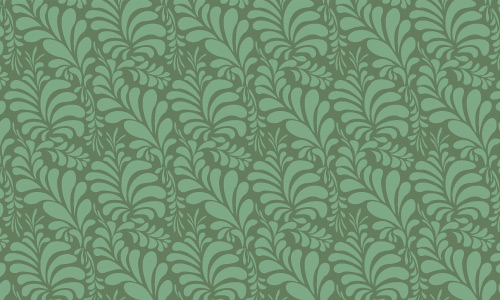 Leaf green pattern