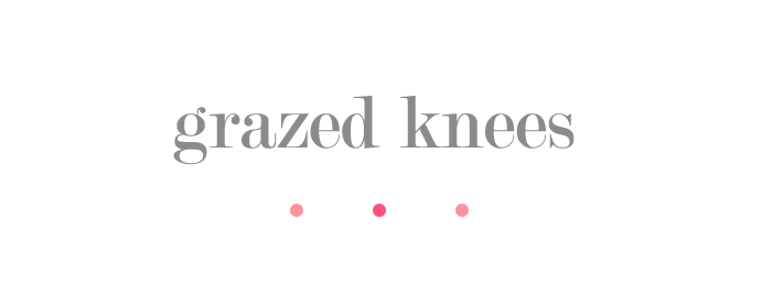 grazed knees