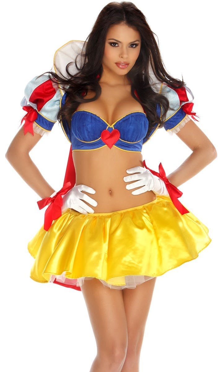 Seems snow white adult costume directly. pity