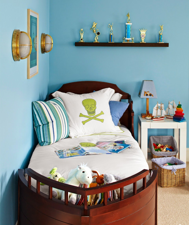 Hogares frescos 10 ideas para ponerle color al dormitorio de su hijo a - Pintura para habitacion de ninos ...