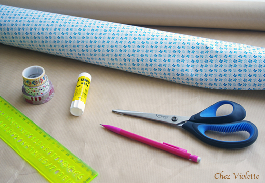 DIY paper good Chez Violette