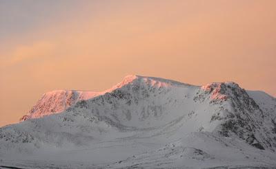 Ben Alder in winter