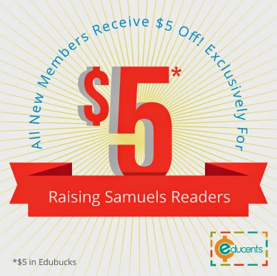 Special promotion just for Raising Samuels readers!
